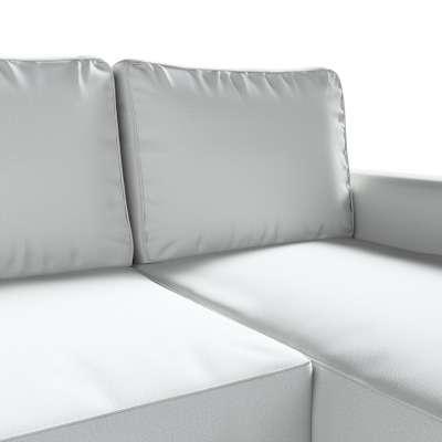 Pokrowiec na sofę Backabro rozkładaną z leżanką w kolekcji Living II, tkanina: 161-18