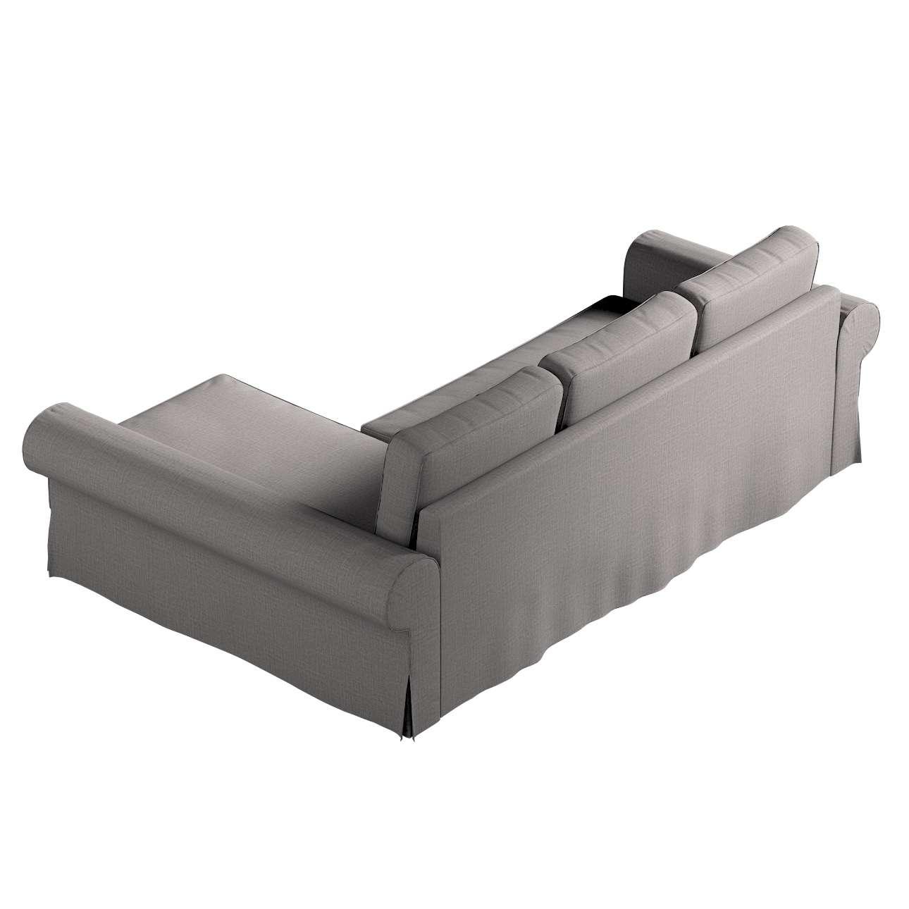Pokrowiec na sofę Backabro rozkładaną z leżanką w kolekcji Living II, tkanina: 161-16