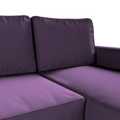 Pokrowiec na sofę Backabro rozkładaną z leżanką w kolekcji Etna, tkanina: 161-27