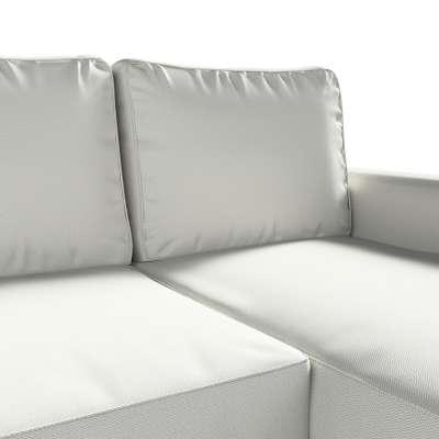 Pokrowiec na sofę Backabro rozkładaną z leżanką w kolekcji Bergen, tkanina: 161-84