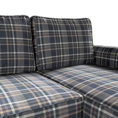 Pokrowiec na sofę Backabro rozkładaną z leżanką w kolekcji Edinburgh, tkanina: 703-16