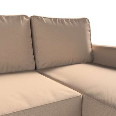 Pokrowiec na sofę Backabro rozkładaną z leżanką w kolekcji Bergen, tkanina: 161-75