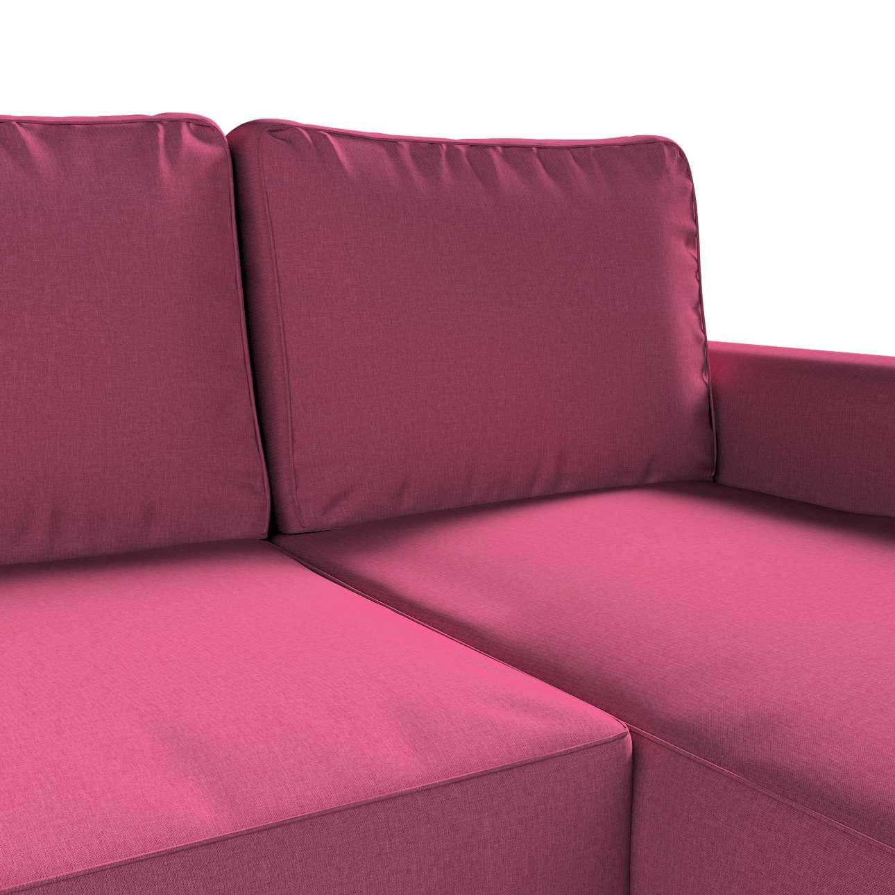 Pokrowiec na sofę Backabro rozkładaną z leżanką w kolekcji Living, tkanina: 160-44
