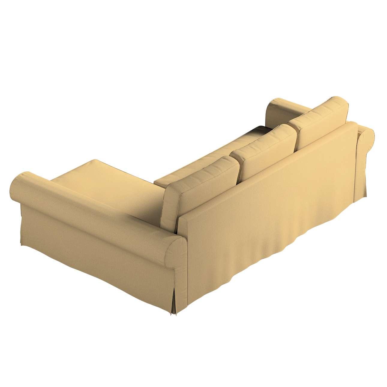 Pokrowiec na sofę Backabro rozkładaną z leżanką w kolekcji Living, tkanina: 161-50
