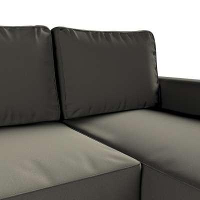 Pokrowiec na sofę Backabro rozkładaną z leżanką w kolekcji Living, tkanina: 161-55