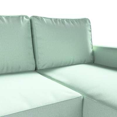 Pokrowiec na sofę Backabro rozkładaną z leżanką w kolekcji Living, tkanina: 161-61