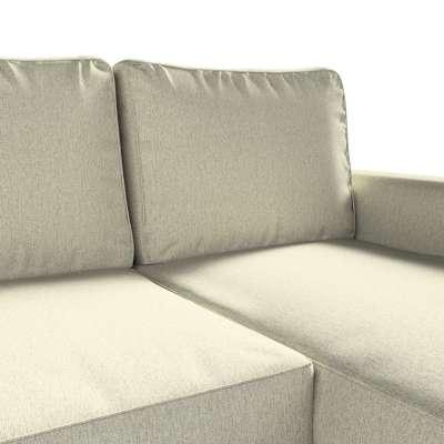 Pokrowiec na sofę Backabro rozkładaną z leżanką w kolekcji Living, tkanina: 161-62