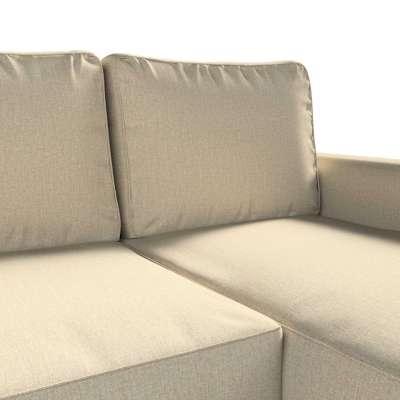 Pokrowiec na sofę Backabro rozkładaną z leżanką w kolekcji City, tkanina: 704-80