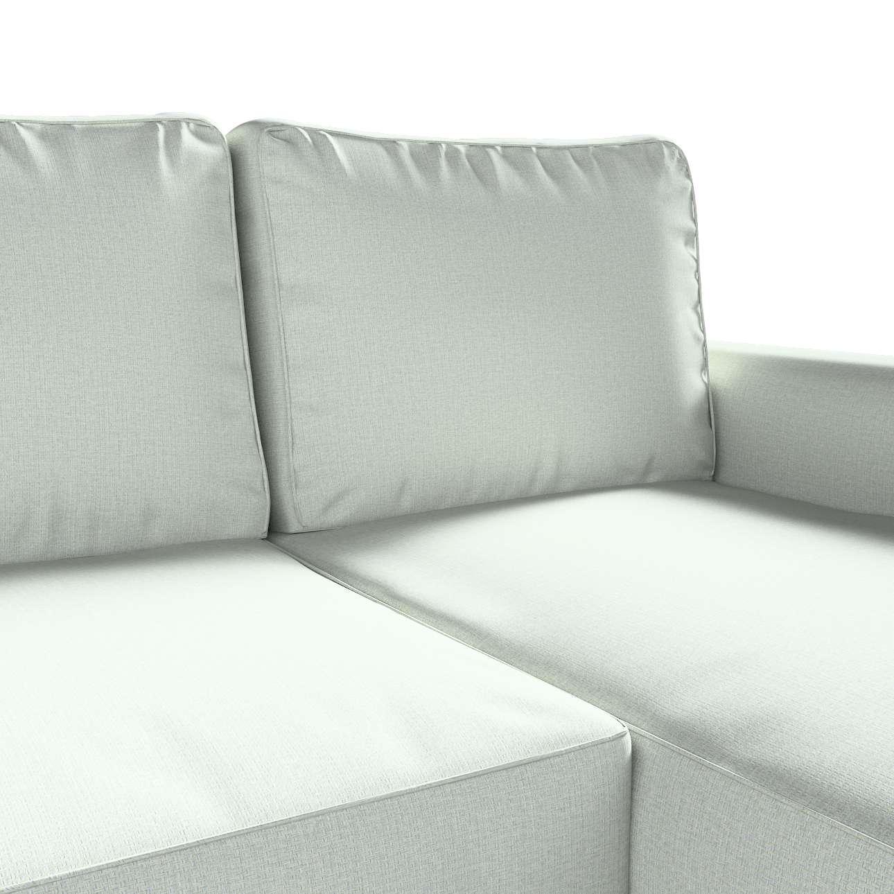 Pokrowiec na sofę Backabro rozkładaną z leżanką w kolekcji Living, tkanina: 161-41