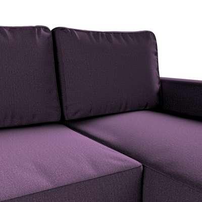 Pokrowiec na sofę Backabro rozkładaną z leżanką w kolekcji Living, tkanina: 161-67