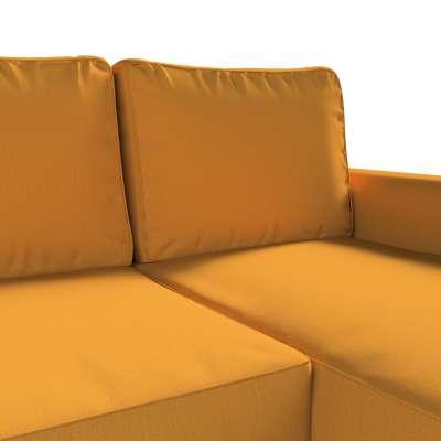 Pokrowiec na sofę Backabro rozkładaną z leżanką w kolekcji Living, tkanina: 161-64