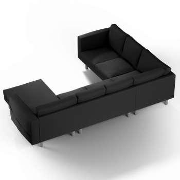 Pokrowiec na sofę narożną Norsborg 5-osobową z szezlongiem w kolekcji Cotton Panama, tkanina: 702-08