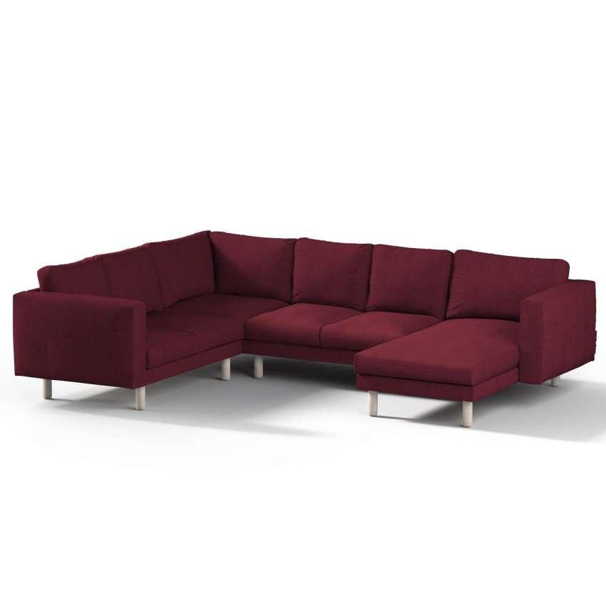 norsborg bezug f r 5 sitzer ecksofa mit recamiere bordeaux norsborg bezug f r 5 sitzer ecksofa. Black Bedroom Furniture Sets. Home Design Ideas