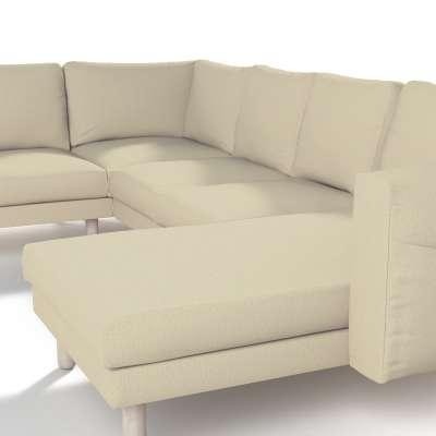 Pokrowiec na sofę narożną Norsborg 5-osobową z szezlongiem w kolekcji Chenille, tkanina: 702-22