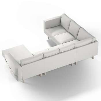 Pokrowiec na sofę narożną Norsborg 5-osobową z szezlongiem w kolekcji Etna, tkanina: 705-90