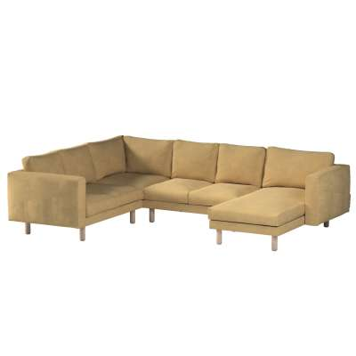 Norsborg 5-seat corner sofa with chaise longue cover