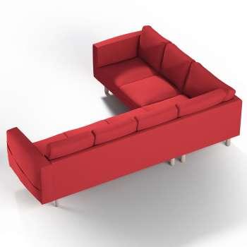 Pokrowiec na sofę narożną Norsborg 5-osobową w kolekcji Cotton Panama, tkanina: 702-04