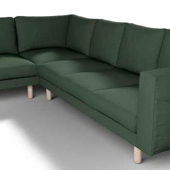 Pokrowiec na sofę narożną Norsborg 5-osobową w kolekcji Cotton Panama, tkanina: 702-06