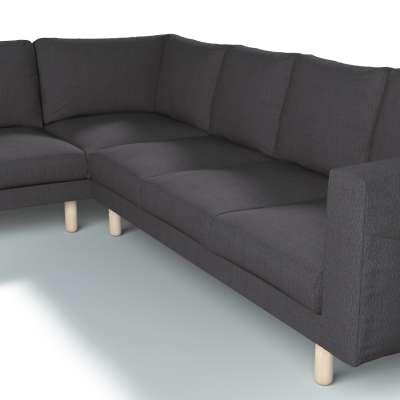 Pokrowiec na sofę narożną Norsborg 5-osobową w kolekcji Chenille, tkanina: 702-20