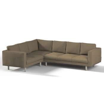 Pokrowiec na sofę narożną Norsborg 5-osobową w kolekcji Chenille, tkanina: 702-21