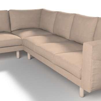Pokrowiec na sofę narożną Norsborg 5-osobową w kolekcji Etna, tkanina: 705-09