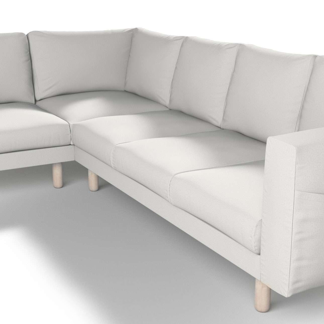 Pokrowiec na sofę narożną Norsborg 5-osobową w kolekcji Etna, tkanina: 705-90