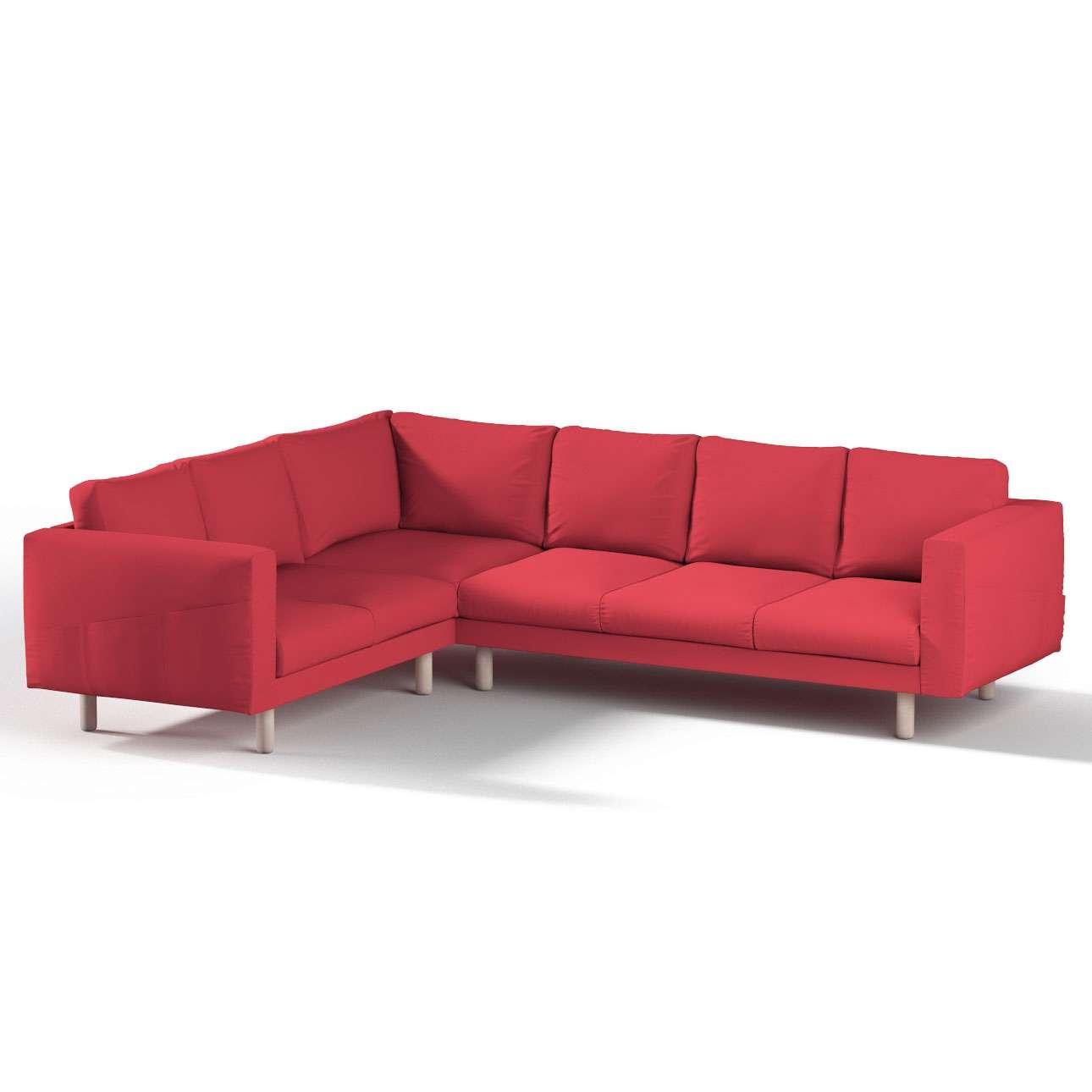 Pokrowiec na sofę narożną Norsborg 5-osobową w kolekcji Etna, tkanina: 705-60