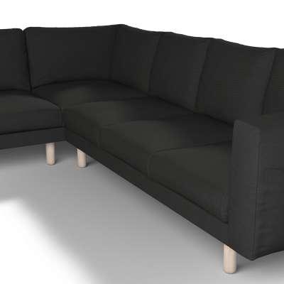 Pokrowiec na sofę narożną Norsborg 5-osobową w kolekcji Etna, tkanina: 705-00