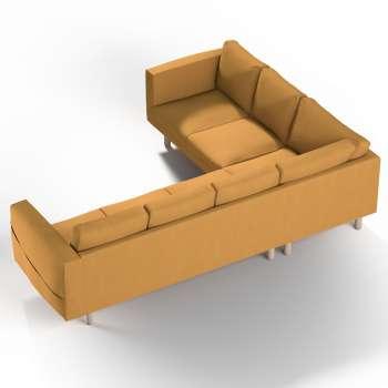 Pokrowiec na sofę narożną Norsborg 5-osobową w kolekcji Etna, tkanina: 705-04