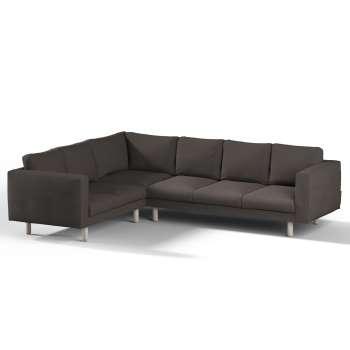 Pokrowiec na sofę narożną Norsborg 5-osobową w kolekcji Etna, tkanina: 702-36
