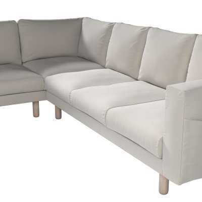 Pokrowiec na sofę narożną Norsborg 5-osobową w kolekcji Ingrid, tkanina: 705-40