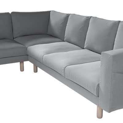 Pokrowiec na sofę narożną Norsborg 5-osobową w kolekcji Ingrid, tkanina: 705-42