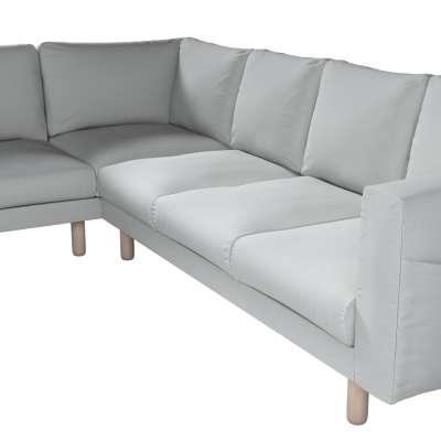 Pokrowiec na sofę narożną Norsborg 5-osobową w kolekcji Living, tkanina: 161-18