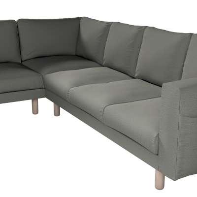 Pokrowiec na sofę narożną Norsborg 5-osobową w kolekcji Etna, tkanina: 161-25