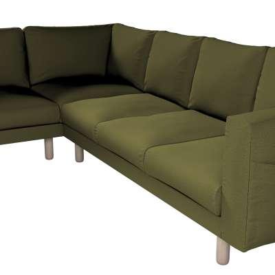 Pokrowiec na sofę narożną Norsborg 5-osobową w kolekcji Etna, tkanina: 161-26