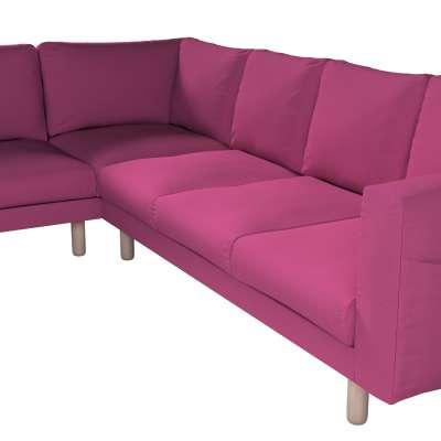 Pokrowiec na sofę narożną Norsborg 5-osobową w kolekcji Living, tkanina: 161-29