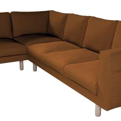 Pokrowiec na sofę narożną Norsborg 5-osobową w kolekcji Living, tkanina: 161-28