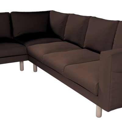 Pokrowiec na sofę narożną Norsborg 5-osobową w kolekcji Bergen, tkanina: 161-73