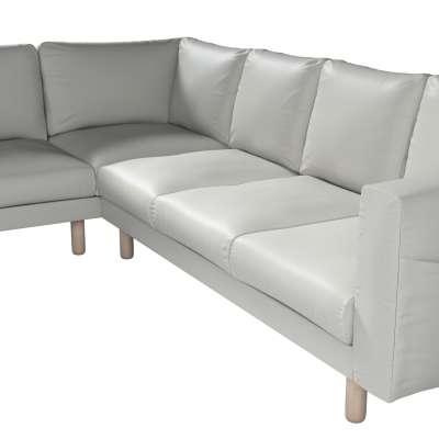 Pokrowiec na sofę narożną Norsborg 5-osobową w kolekcji Bergen, tkanina: 161-84