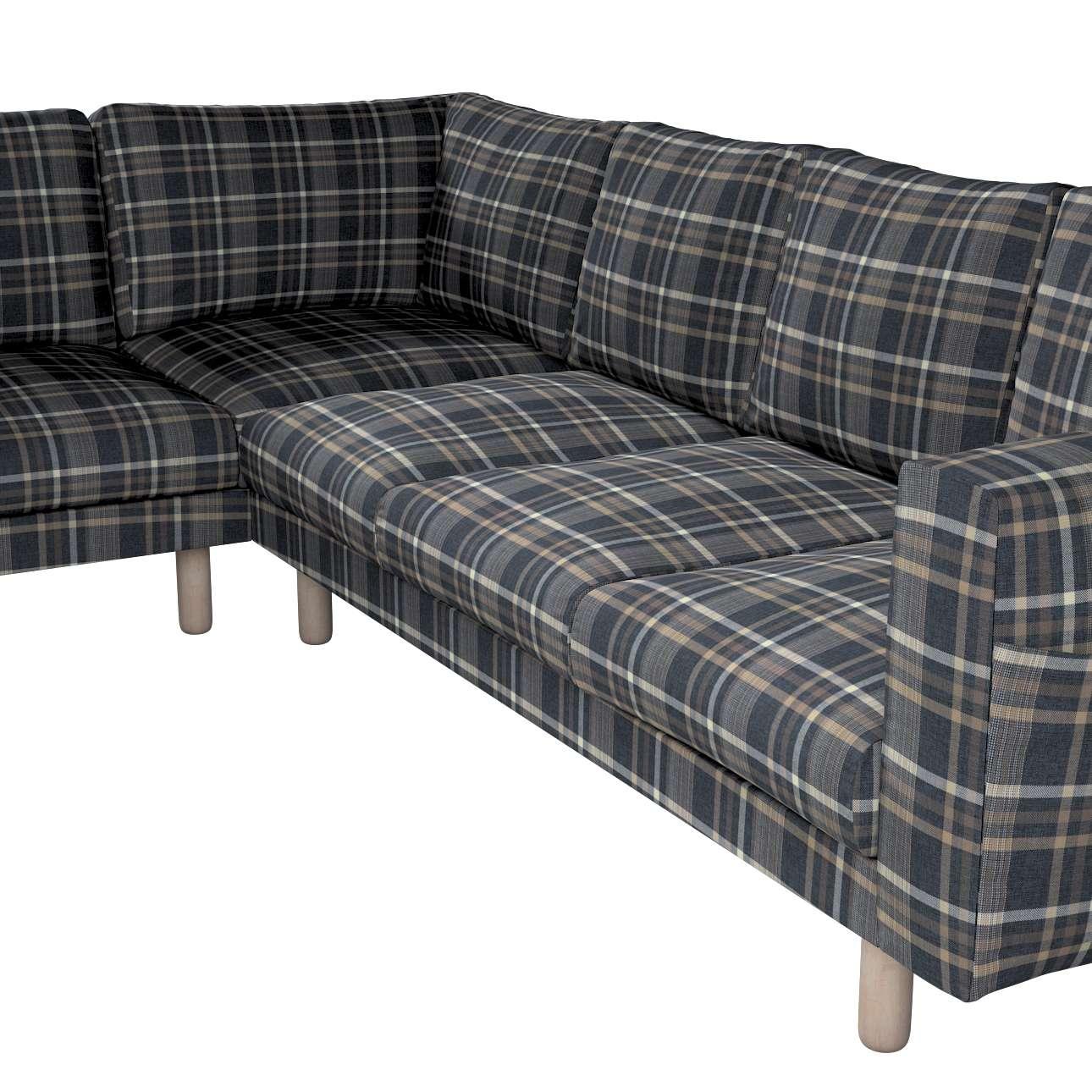 Pokrowiec na sofę narożną Norsborg 5-osobową w kolekcji Edinburgh, tkanina: 703-16
