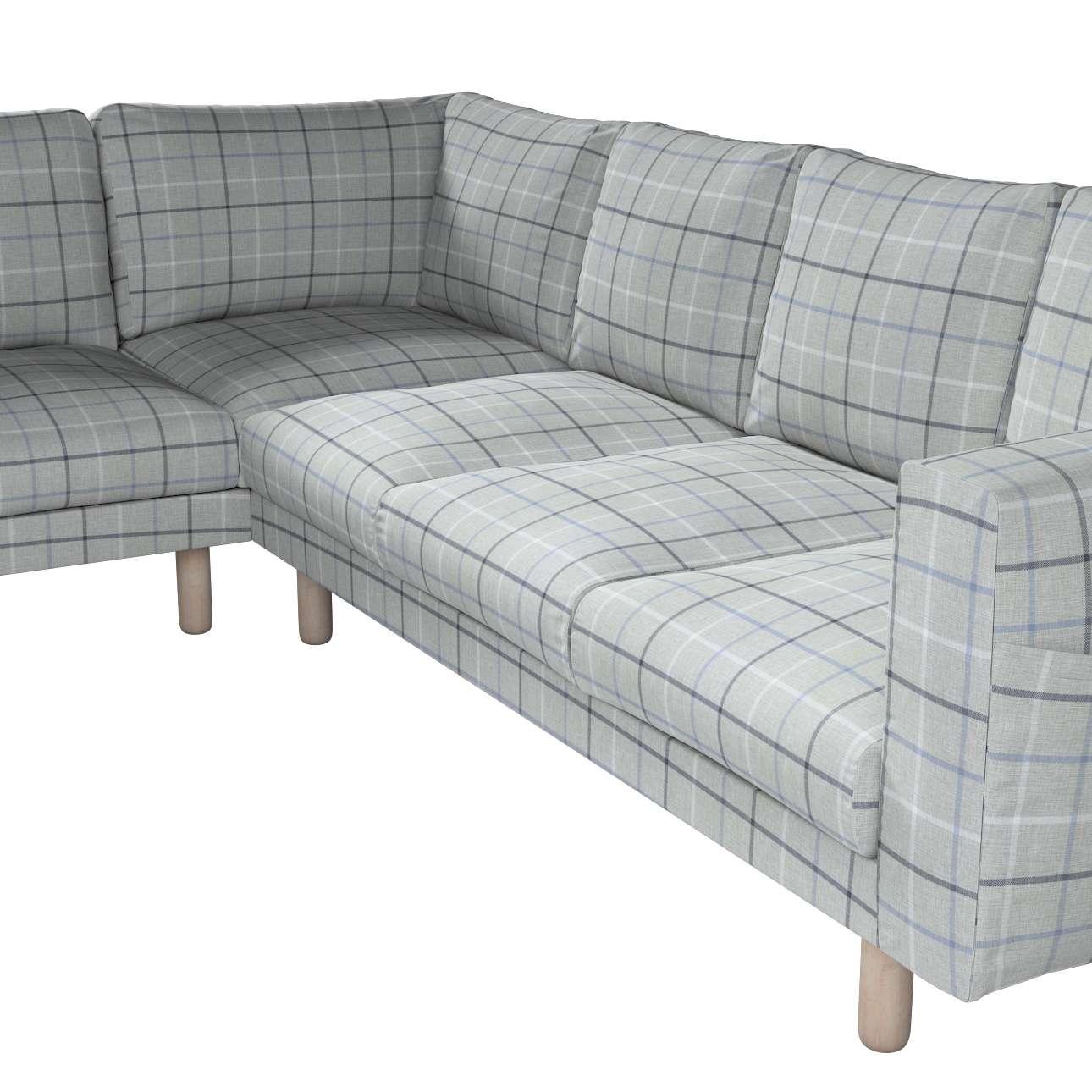 Pokrowiec na sofę narożną Norsborg 5-osobową w kolekcji Edinburgh, tkanina: 703-18