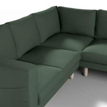 Pokrowiec na sofę narożną Norsborg 4-osobową w kolekcji Cotton Panama, tkanina: 702-06