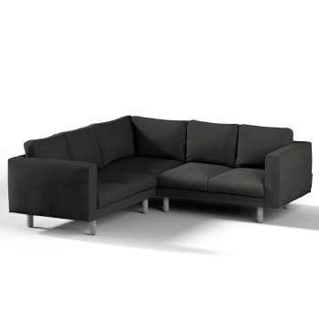 Pokrowiec na sofę narożną Norsborg 4-osobową w kolekcji Cotton Panama, tkanina: 702-08