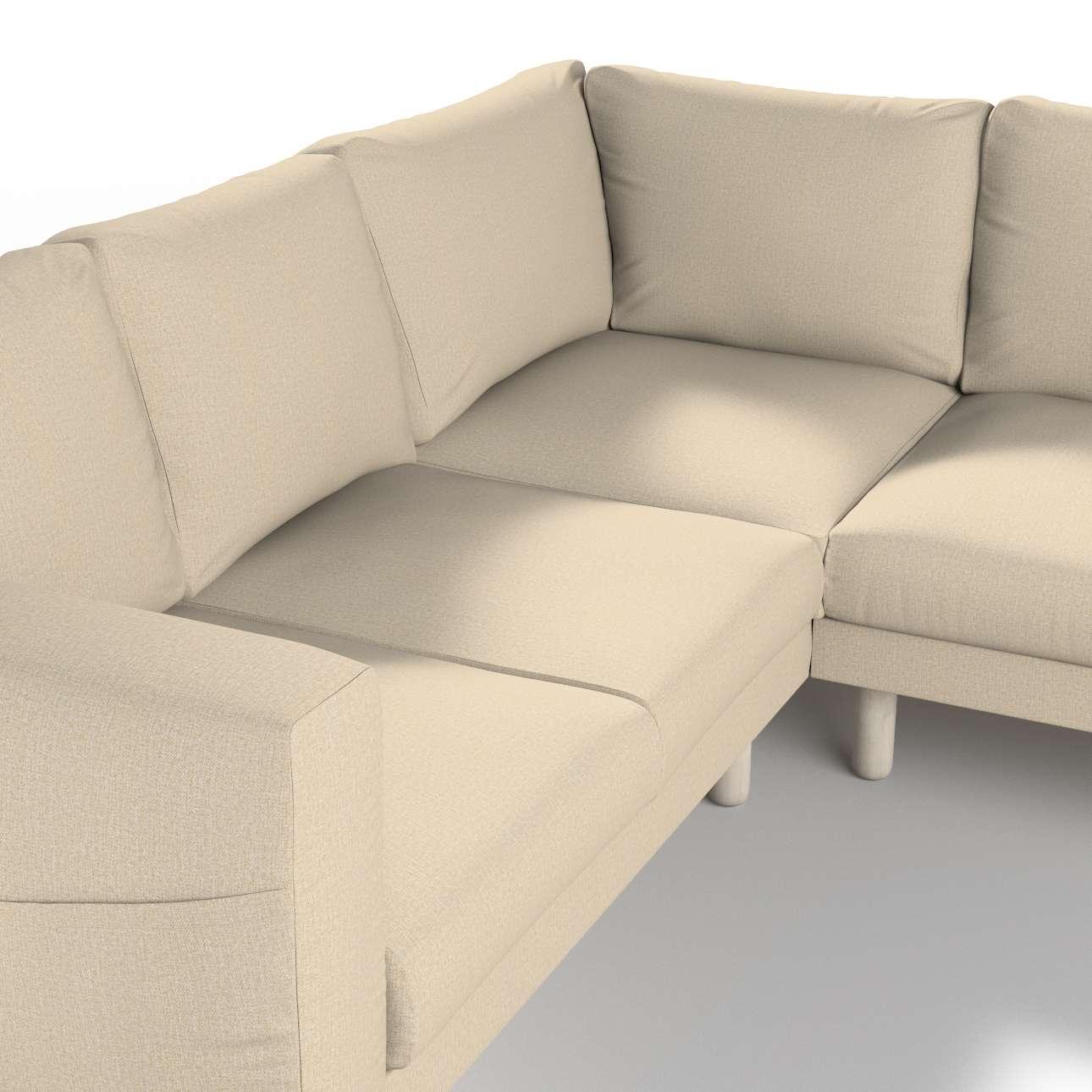 Pokrowiec na sofę narożną Norsborg 4-osobową w kolekcji Edinburgh, tkanina: 115-78