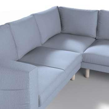 Pokrowiec na sofę narożną Norsborg 4-osobową w kolekcji Chenille, tkanina: 702-13