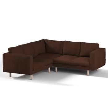 Pokrowiec na sofę narożną Norsborg 4-osobową w kolekcji Chenille, tkanina: 702-18