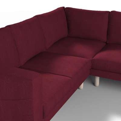 Pokrowiec na sofę narożną Norsborg 4-osobową w kolekcji Chenille, tkanina: 702-19
