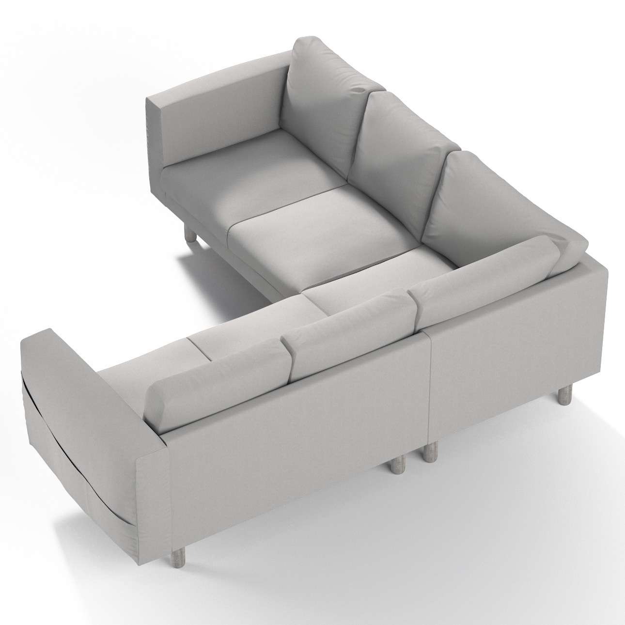 Potah na pohovku IKEA Norsborg rohová 4-místná sofa narożna Norsborg 4-osobowa v kolekci Chenille , látka: 702-23
