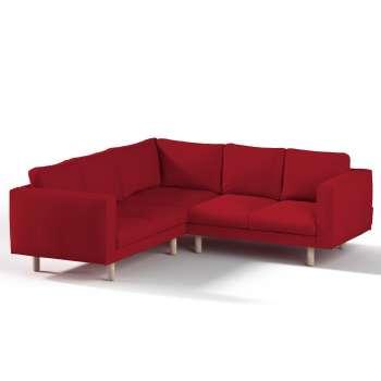 Pokrowiec na sofę narożną Norsborg 4-osobową w kolekcji Chenille, tkanina: 702-24