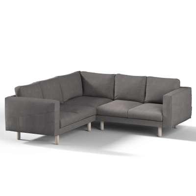 Norsborg 4-seat corner sofa cover 705-35 graphite Collection Etna